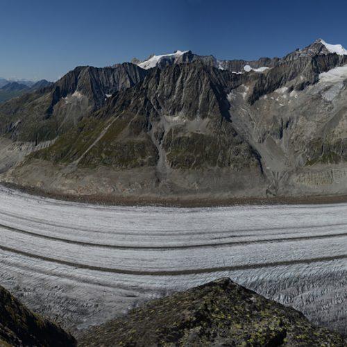 Panorama du glacier d'Aletsch