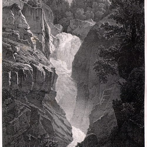 Les chutes de l'Aar à Handegg
