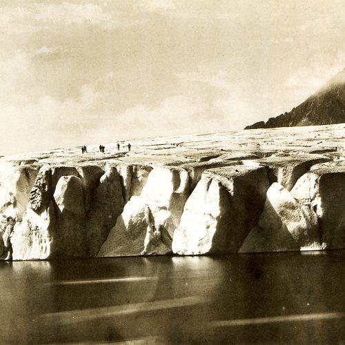 Le lac de Märjelenen, Martens 1855© JHV