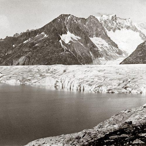 Le lac de Märjelen vers 1920 © S Coutterand