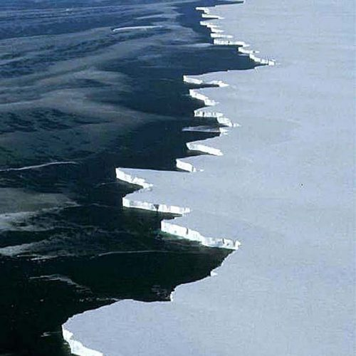 Front Ross ice shelf© NASA