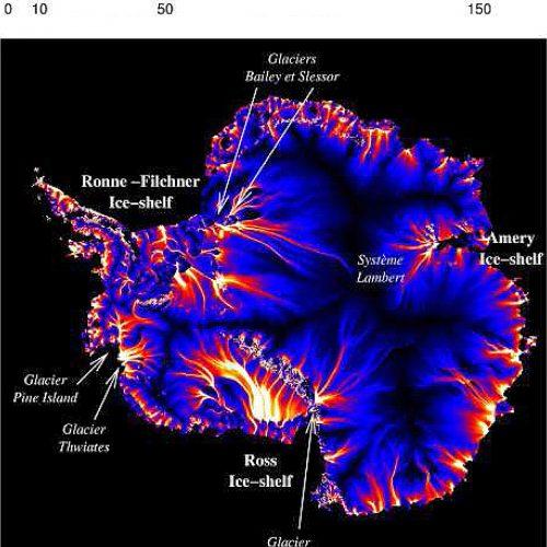 Antarctique icestreams ©Vincent Peyaud 2006