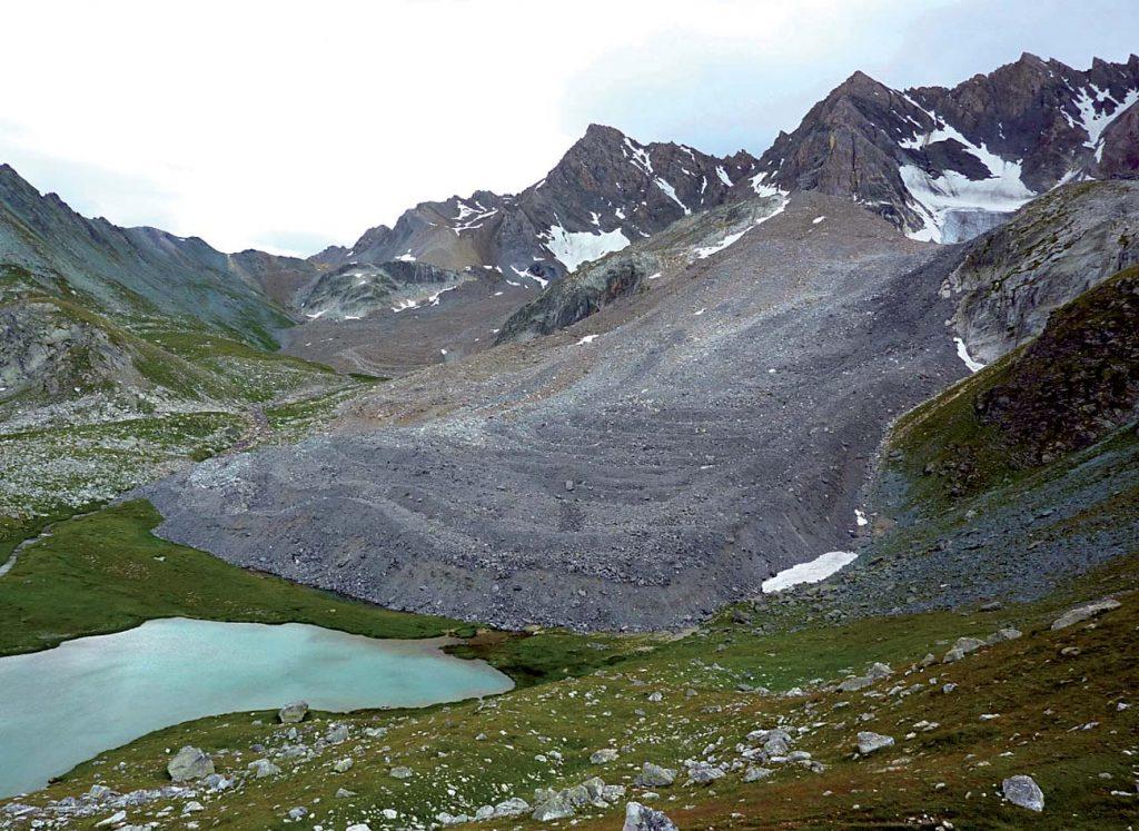 Un glacier rocheux en Valais (Suisse) © F Amelot
