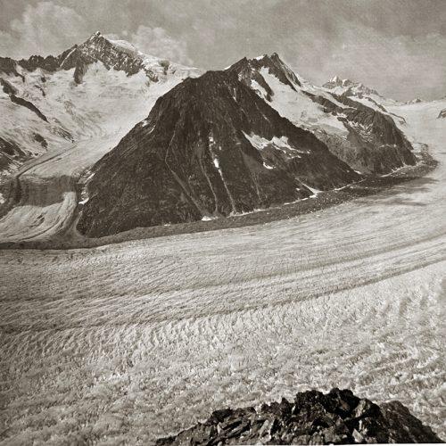 Mittelaletsch et Aletsch vers 1900, ∏ JHV SC
