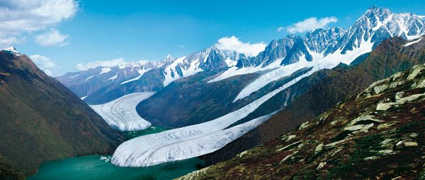 Reconstitution paléoenvironnementale de la vallée de Chamonix. aujourd'hui et au Dryas récent.