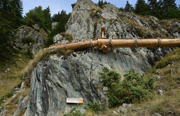 Bazot suspendu (restauré) à Chnebelbrigga