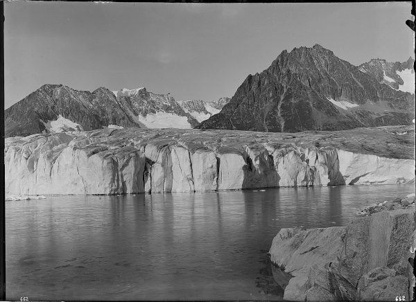 Le lac de Märjelen vers 1855