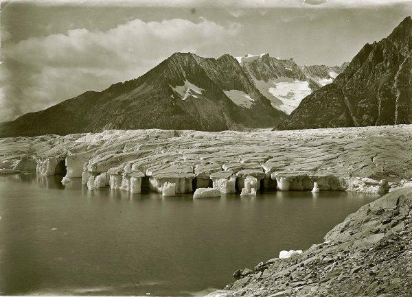 Le lac de Märjelen vers 1870