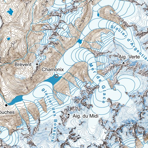 Recadrage ; la vallée de Chamonix
