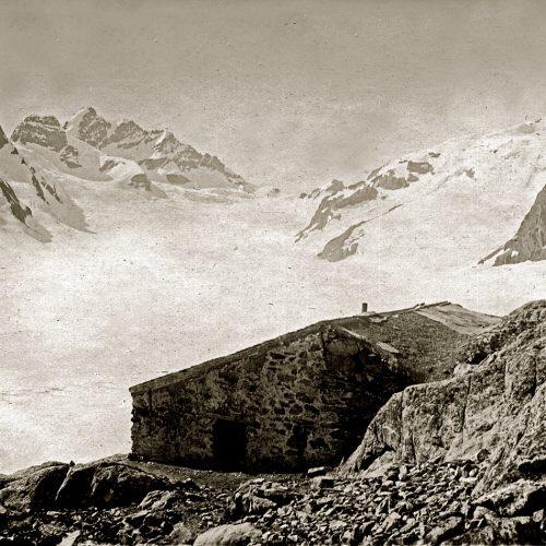 Ancienne cabane Konkordia 1880