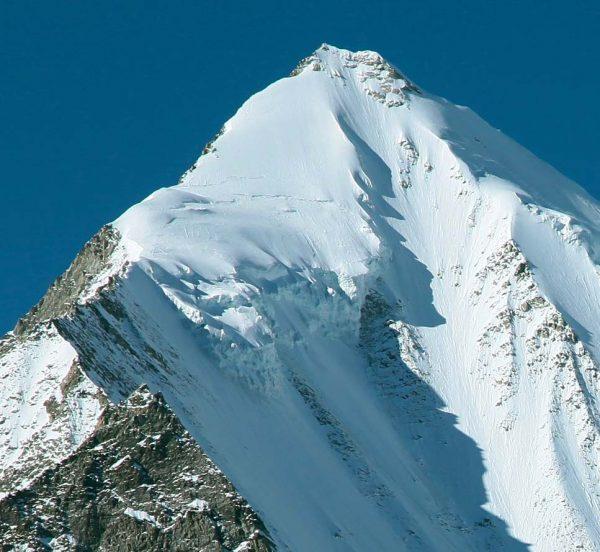 Sérac sommitaux du Weisshorn (à 4300 m)