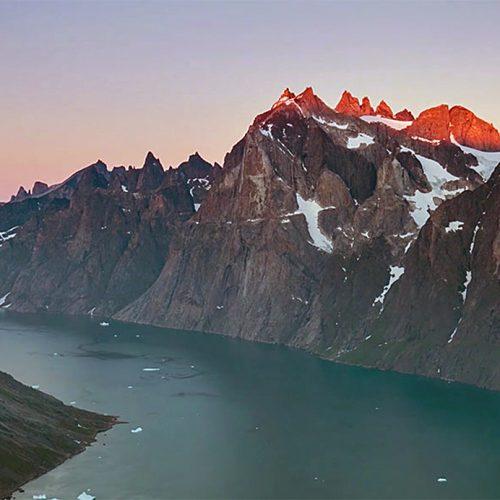 Le fjord Tasermiut mesure près de 70 km de long et est situé à la pointe sud du Groenland.