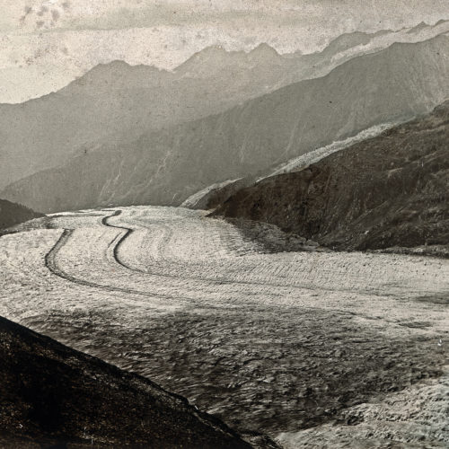 Le Grand glacier d'Aletsch vers1860 photo de A Braun © S Coutterand