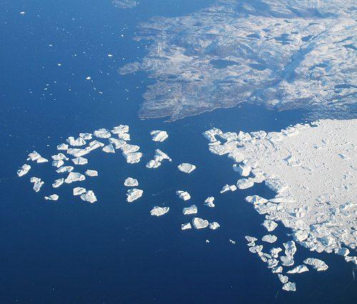 Ice streams de l'Illulisat