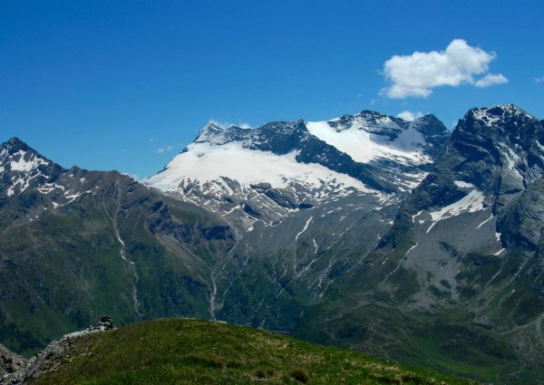 Le Breithorn et le Homattugletscher