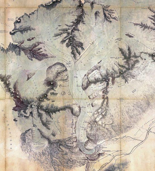 Carte de Forbes 1842