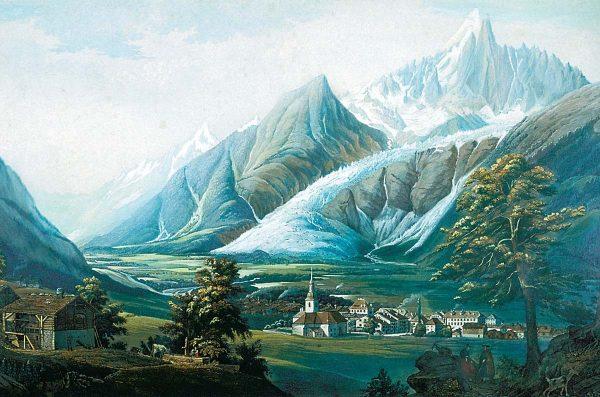 Le glacier des Bois