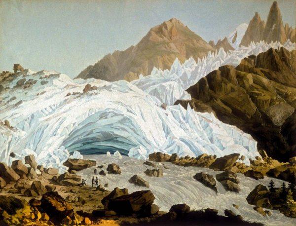 Grotte du glacier des Bois