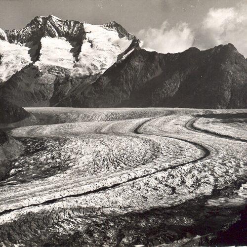 La langue terminale du glacier vers 1925 © A Zryd