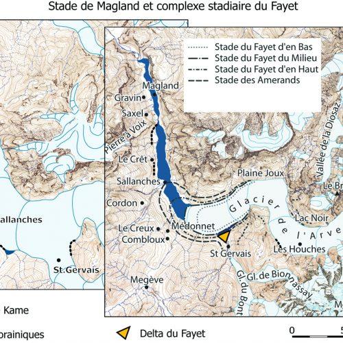 Les stades de Magland et du Fayet