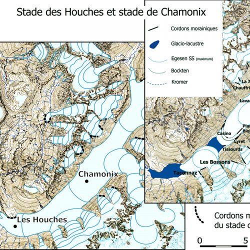 Les stades des Houches et de Chamonix