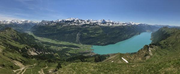 La vallée de l'Aar entre Innertkirchen et le lac de Brienz
