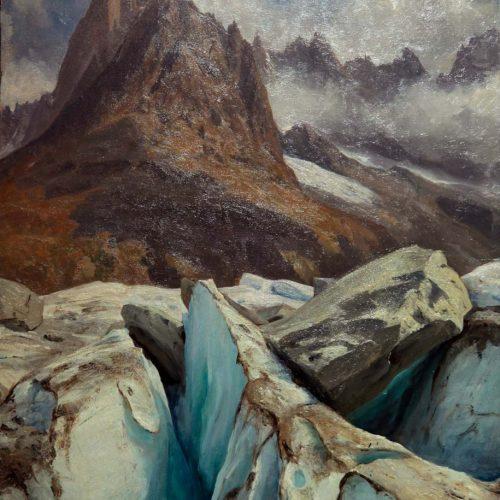 Gabriel Loppé, Sur le Mer de Glace