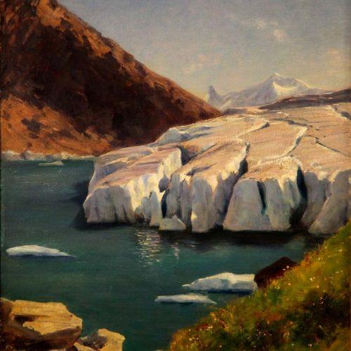 Gabriel Loppé, lac de Chanrion